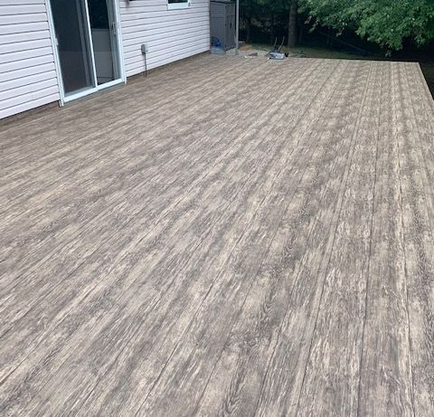Tufdek Waterproof Vinyl Decking, Old Maple Grove Road, Cambridge