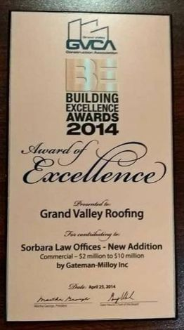Award of Excellence - Sobrara Law Offices