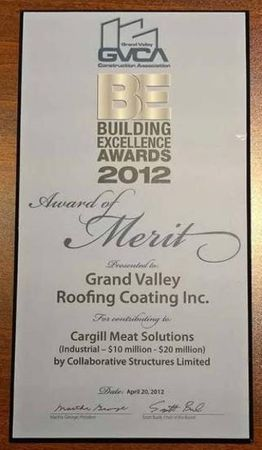 Awards Of Merit - Cargill Meat Solutions