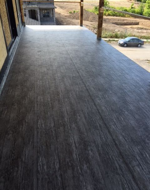 Tufdek Waterproof Vinyl Decking, Residential Home