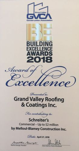 Building excellence awards 2018